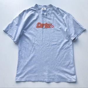 90s NIKE コルテッツロゴTシャツ  グレー 表記 L