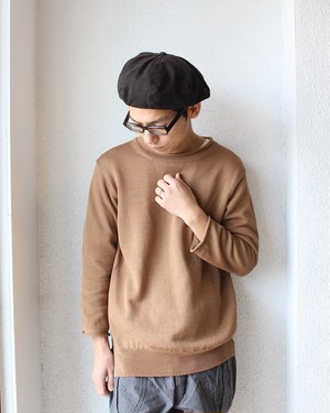 A Vontade(アボンタージ)/ Roll Neck Sweater(ロールネック セーター)キャメル