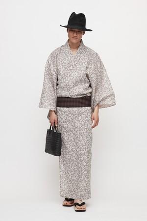 ゆかた / Paisley / Beige(WIth tailoring)