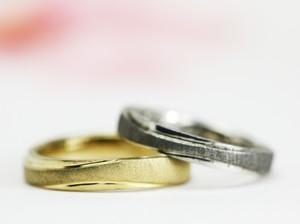 ハードフォーニングの結婚指輪