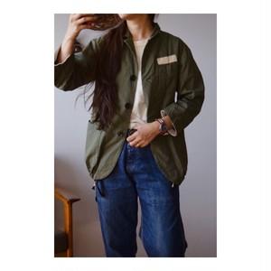 Simva116-0018Olive バフクロス3B Jacket