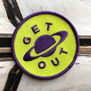 """dontreallycare""""GET OUT PATCH"""""""