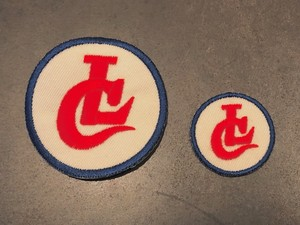 EMBROIDARY PATCH / LC (IVORY) / LOST CONTROL