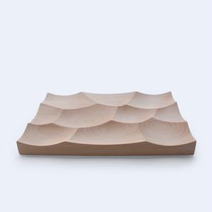 多目的木製トレー -Storm Tray L(ヨーロッパビーチ)