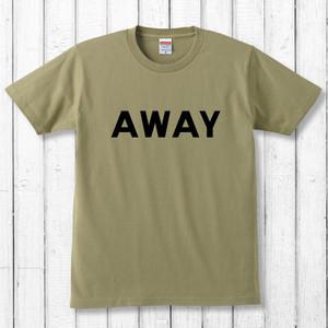 AWAY Tシャツ/サンドカーキ