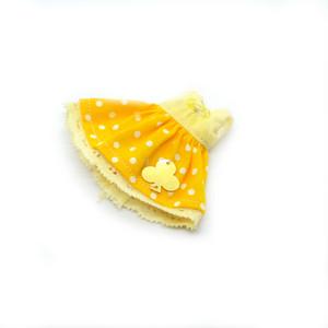 プチブライスサイズ  黄色のワンピース