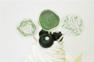 森のウエディングケーキピッグ bird (10本入)