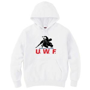 """U.W.F.""""完全復刻""""シリーズ第一弾!! パーカー 白"""