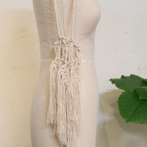 JUN MIKAMI 【 womens 】macrame bag