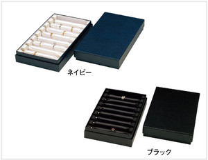リング収納ケース紙箱 リング棒8本付き V-580