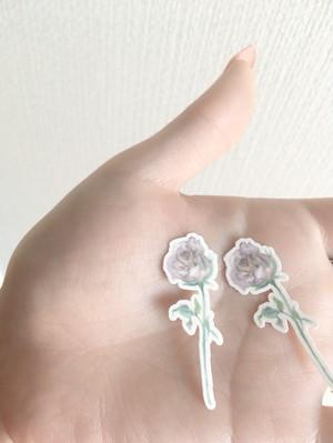 小さい薔薇のタトゥーシール