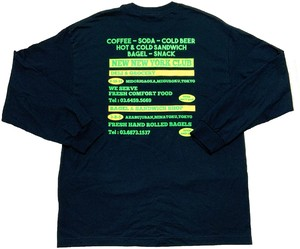 NEW NEW YORK CLUB / Advertising Long Sleeve T-Shirt