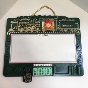 レトロな機関車のメモボード(0310205S60)