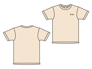 47idol 公式Tシャツ【ライトピンク・ロゴ小】