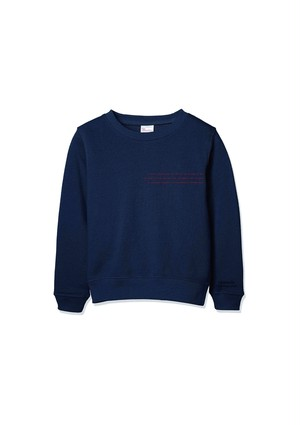 sweat 【navy】
