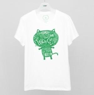 OKCAT TシャツB