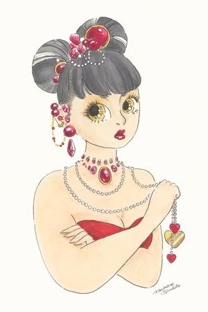 Postcard*Queen Of Heart*