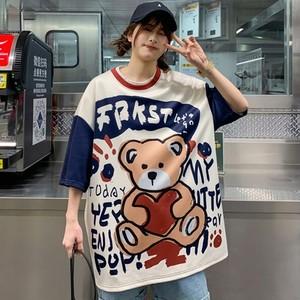 【トップス】ストリート系プリントファッション半袖Tシャツ41835116