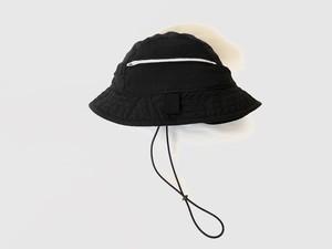 FUNCTIONAL ハコフグ 5panel HAT /  BLACK