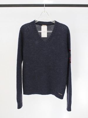 Used galliano mohair knit