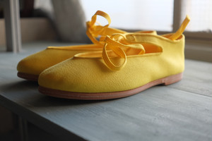 CHRISTIAN PEAU GYMNASTIQUE SHOES YELLOW