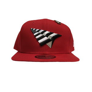 PAPER PLANES New Era Crimson Crown Snapbacks / Red