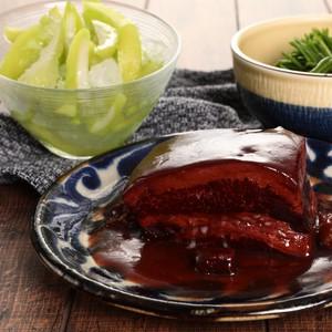 【おすすめ】豚バラ肉の角煮(2パック) ナツメとハイビスカスソースと日本初上陸 台湾青マンゴー  計3パックセット