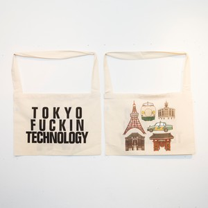 Anoraks | Life Is Journey Tote [TOKYO]