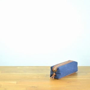 CANVAS PEN CASE S / NAVY