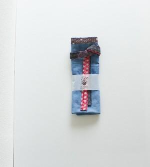 越中ふんどし カラダとココロが喜ぶ  草木染め  冷え取 藍染め ※柄は写真1~4枚目です。 温活 出産祝い 妊活 マタニティー