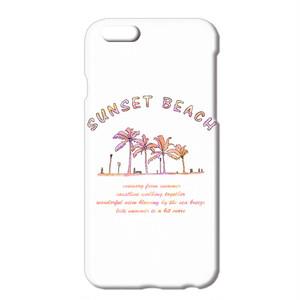 送料無料 [iPhoneケース] SUNSET BEACH