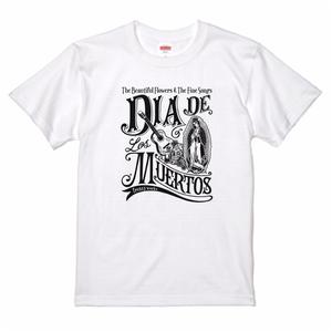 DIA DE LOS MUERTOS 2 死者の日 Tシャツ ホワイト