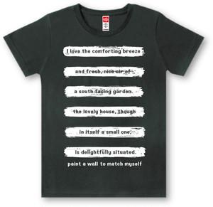 #419 Tシャツ PAINT/BLK