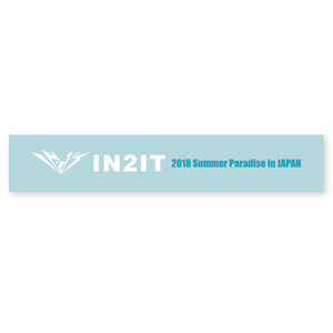 IN2IT 2018 Summer Paradise in JAPAN タオルマフラー