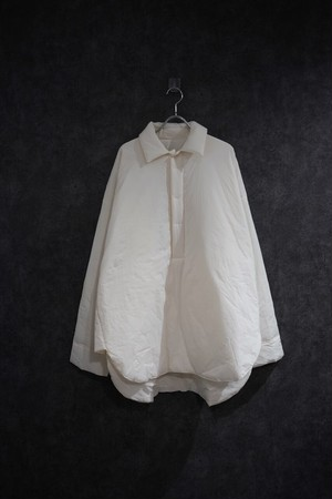 ℃℃℃ nylon pullover shirt White