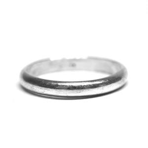 Vintage Mexican Slim Plain Ring