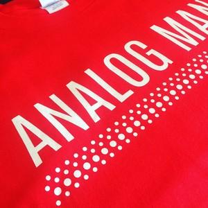 アナログマンTシャツ2015 レッド
