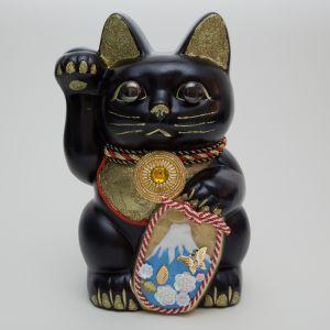富士山ご縁猫(Mt. Fuji) / L-Size  / 黒(Black)