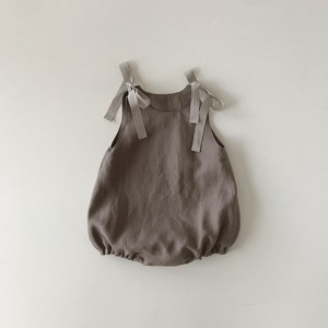 baby rompers : graige (60〜80)