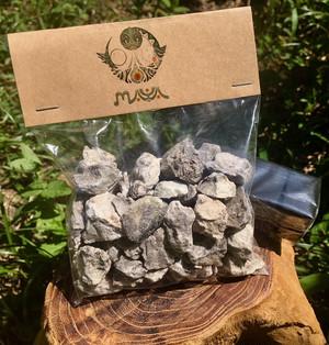 ナチュラルインセンス ブレウ・ブランコ樹脂 - Resina de Breu Branco - (炭セット)50g