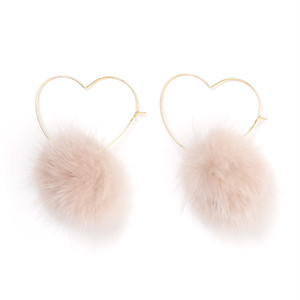 heart fur pierce (A18-10045K)