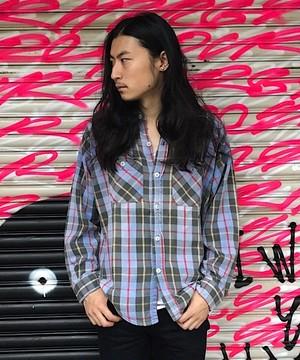 King Kole Vintage Nel shirt (UT-427)ヴィンテージシャツ