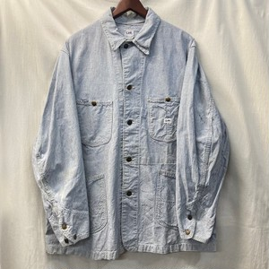 "60's ""Lee"" 96-J Pin Stripe Chore Jacket​"