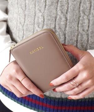 〈KANGOL/カンゴール〉 KANGOL ロゴ型押し ショートウォレット / 財布