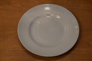 USED WOODS WARE Plate Iris 0876