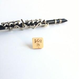"""バンドレンのラペルピン Reed brooch pin """" Vanboren 3 1/2"""""""