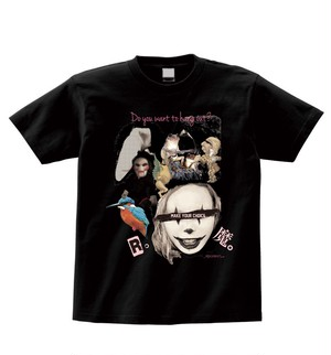 """Pennywise death""野ウサギ Tシャツ (full color) ※数量限定"