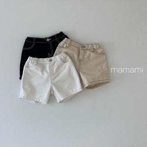 mamami / ステッチショートパンツ