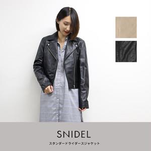 snidel  スタンダードライダースジャケット (SWFJ184026)