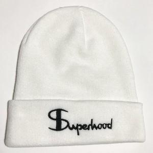 Superhood Knit Cap (White)